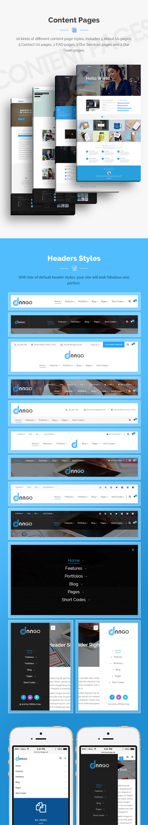 DNG - Responsive HTML5 Template - 25